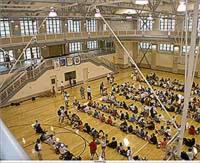 Yale University's Lanman Gymnasium in Payne Whitney Hall